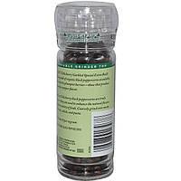 Органический черный перец теличери (Tellicherry) Frontier Natural Products, горошек, 50 г