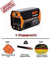 СВАРОЧНЫЙ ИНВЕРТОР ДНІПРО-М САБ-258ТЗ (Dnipro-M SAB-258TS) + классный Подарок!