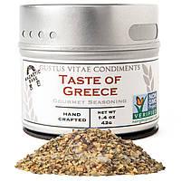 Смесь специй Gourmet Seasoning для греческой кухни, Gustus Vitae, Taste of Greece, 42 g