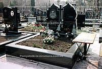Двойной памятник огонь № 10