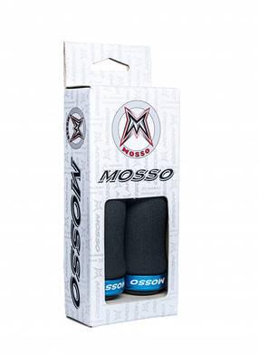 Грипсы Mosso GP-10 135мм черный / синий (GM-NIEB), фото 2