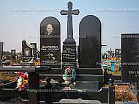 Памятник с крестом для двоих № 13