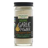 Чеснок (порошок) Frontier Natural Products, органический порошок чеснока, 66 г