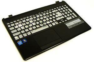 Верхняя часть корпуса с точпадом и клавиатурой для ноутбука Acer Aspire E1-572
