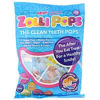 Zollipops , The Clean Teeth Pops, клубника, апельсин, малина, вишня, виноград, ананас, более 25 ZolliPops, 5,2 унций
