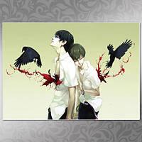 Плакат Zankyou no Terror 04