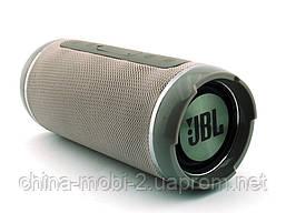 JBL  Flip 6+ T&G116 10W копия, Bluetooth колонка с FM MP3, серая, фото 3