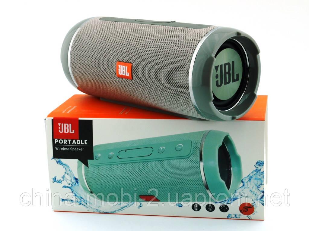 JBL  Flip 6+ T&G116 10W копия, Bluetooth колонка с FM MP3, серая