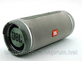 JBL  Flip 6+ T&G116 10W копия, Bluetooth колонка с FM MP3, серая, фото 2