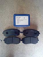 Тормозные колодки передние Sangsin SP1367 Subaru Forester 2002- Impreza 2005- Legasy 2003- Outback 2.0 2.5