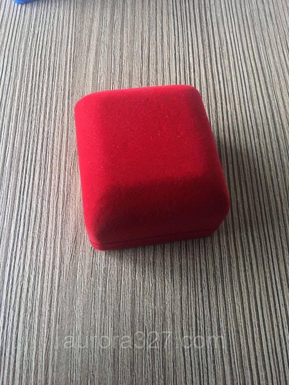 Футляр классика 3 кольцо красная