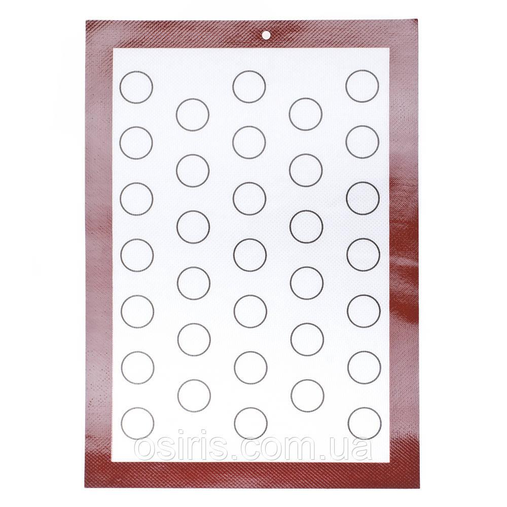 Силиконовый коврик для выпечки 42 х 29,5 см