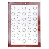 Силиконовый коврик для выпечки 42 х 29,5 см, фото 1