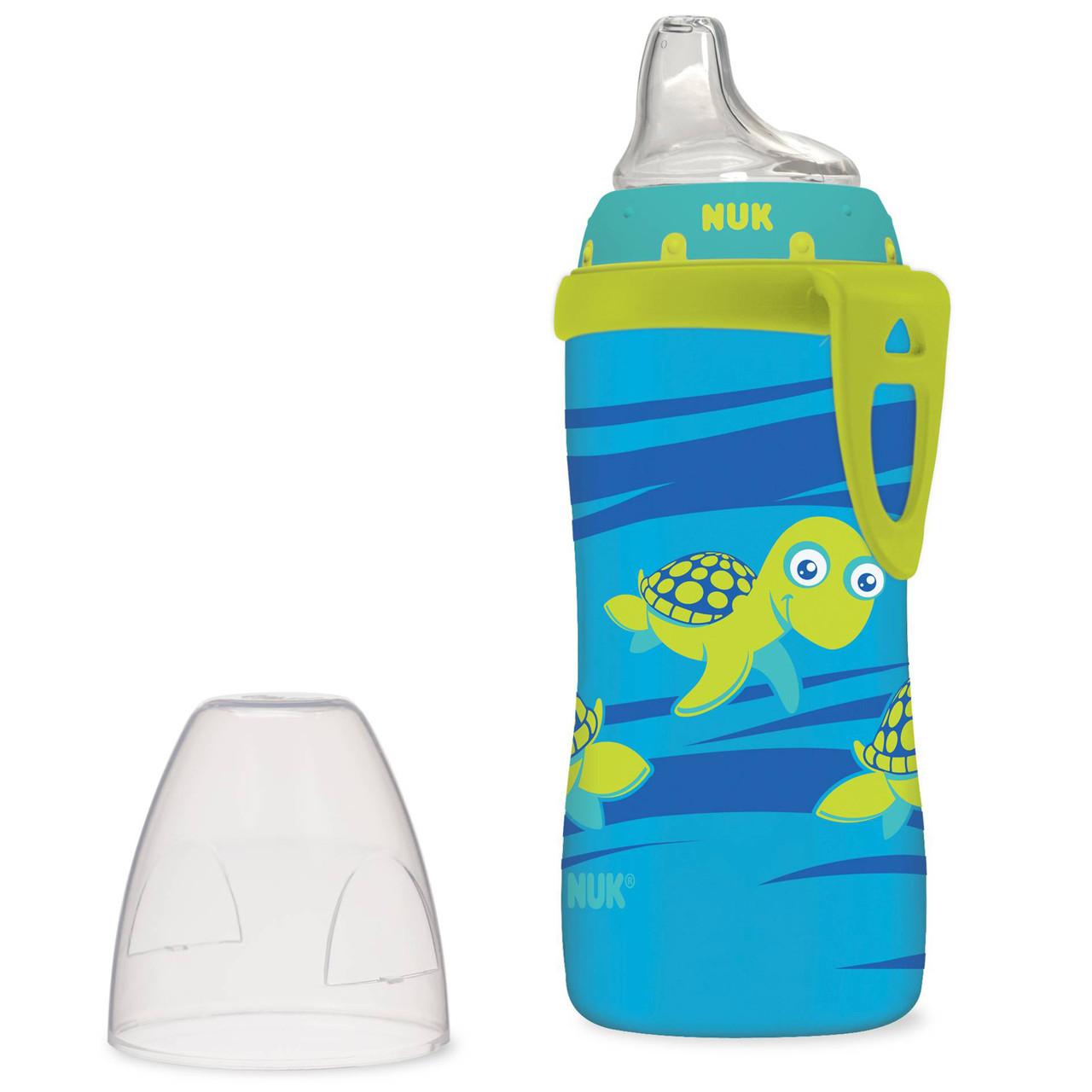 NUK, Turtle Active Cup, от 12 месяцев, 1 чашка, 10 унц. (300 мл), фото 1