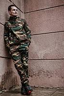 Мужской спортивный костюм! Анорак + Штаны + Подарок! Камуфляж
