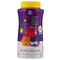 Solgar, U-Cubes, жевательные витамины и минералы для детей, 120 жевательных конфет