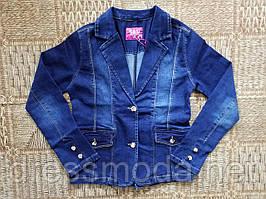 Джинсовий піджак для дівчаток S&D 8-16 років