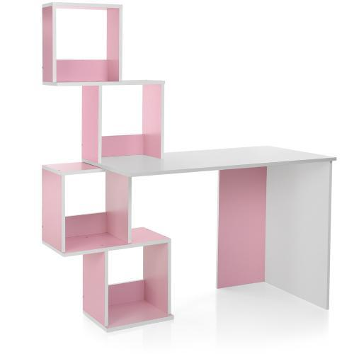 Детская парта розовая M 3854-8