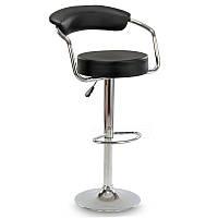 Барный стул Hoker VIGO. Цвет черный.