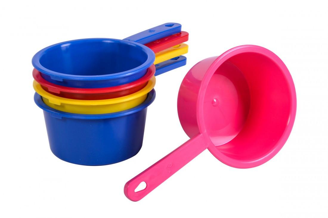 Ковшик с пищевой пластмассы для жидкостиМЕД
