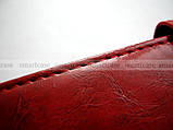 Женский красный чехол книжка противоударный для Xiaomi Redmi Note 5 в эко коже PU + портмоне, фото 6