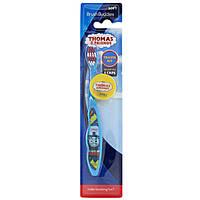 """Brush Buddies, Зубная щетка """"Томас и друзья"""", дорожный набор, мягкая, 1 зубная щетка с колпачком"""