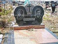 Двойное надгробие из гранита № 30