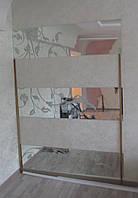 Зеркало с художественным пескоструем