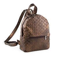 Рюкзак Fancy mini коричневый атлас_склад, фото 1