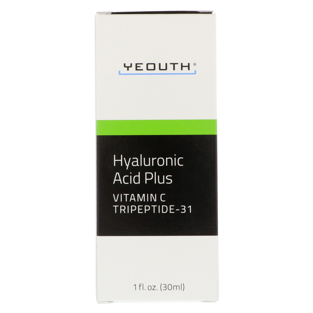 Гиалуроновая кислота плюс витамин С от Yeouth, 30 мл
