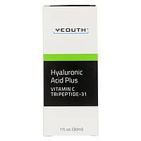 Гиалуроновая кислота плюс витамин С от Yeouth, 30 мл, фото 1