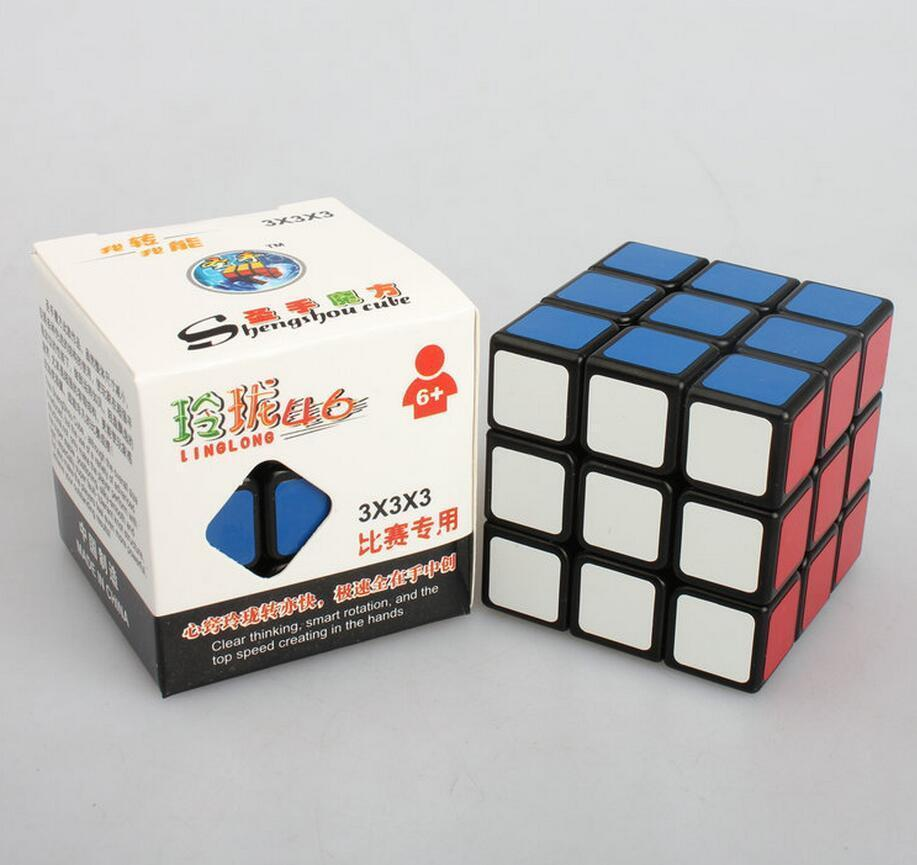 Кубик рубика ShengShou 3x3x3 LingLong 46mm