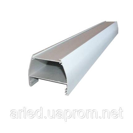 Алюминиевый анодированный профиль ODWW для светодиодной алюминиевой платы или ленты., фото 2