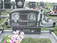 Двойное надгробие из гранита № 22