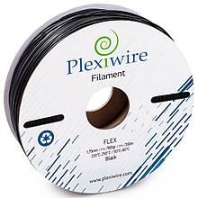 Пластик в котушці Flex 1,75 Чорний, 0.9 кг/300м, Plexiwire