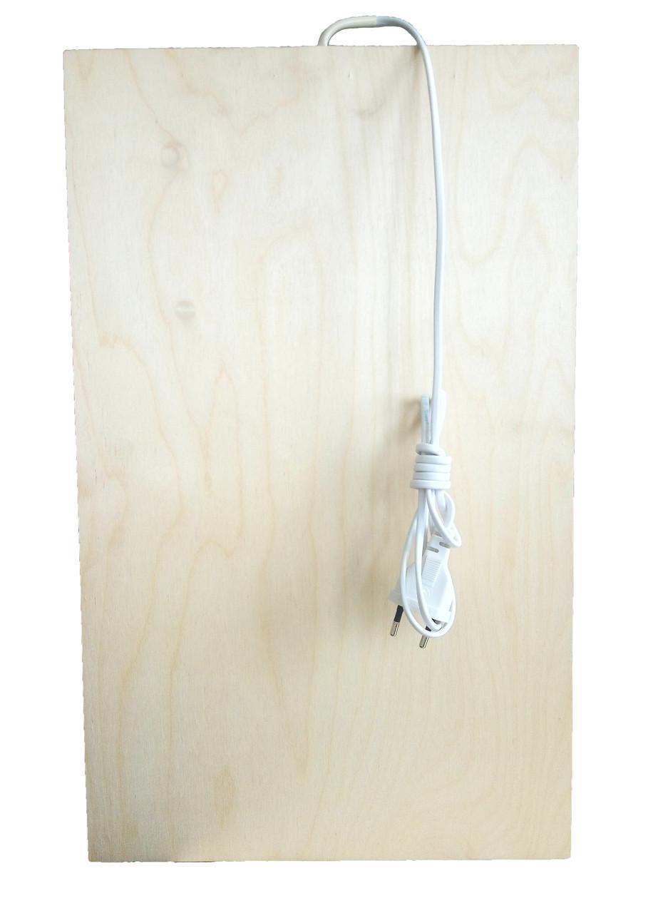 🔝 Панель обогреватель, Трио, инфракрасный теплый пол, 50W, QSB панель, с подогревом Трио | 🎁%🚚