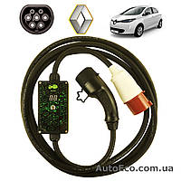 Зарядное устройство для электромобиля Renault Zoe ZE AutoEco 32A-BOX (3 ФАЗЫ)