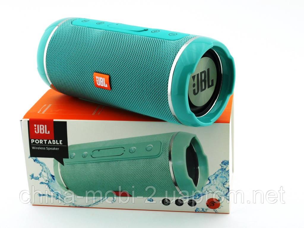 JBL  Flip 6+ T&G116 10W копия, портативная колонка с Bluetooth FM MP3, Teal мятная