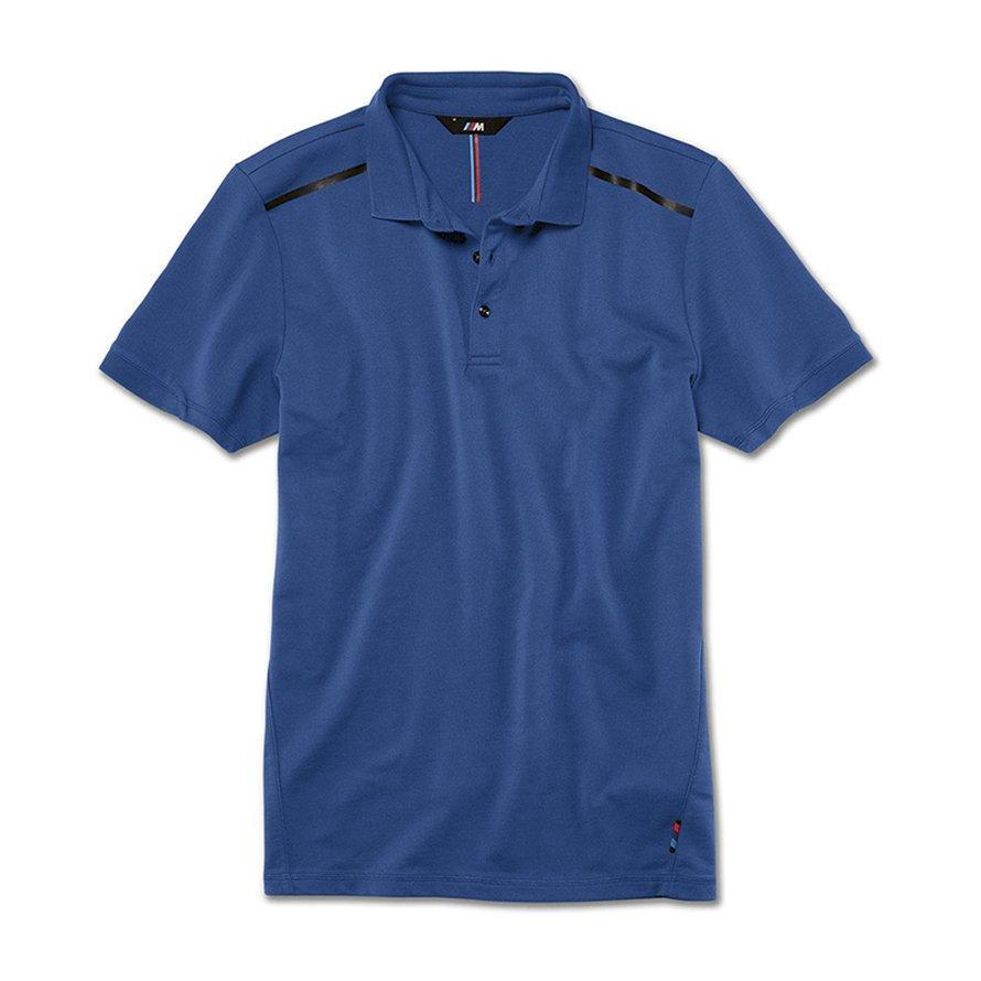 Оригінальна чоловіча сорочка-поло BMW M Polo Shirt, Men, Marina Bay Blue