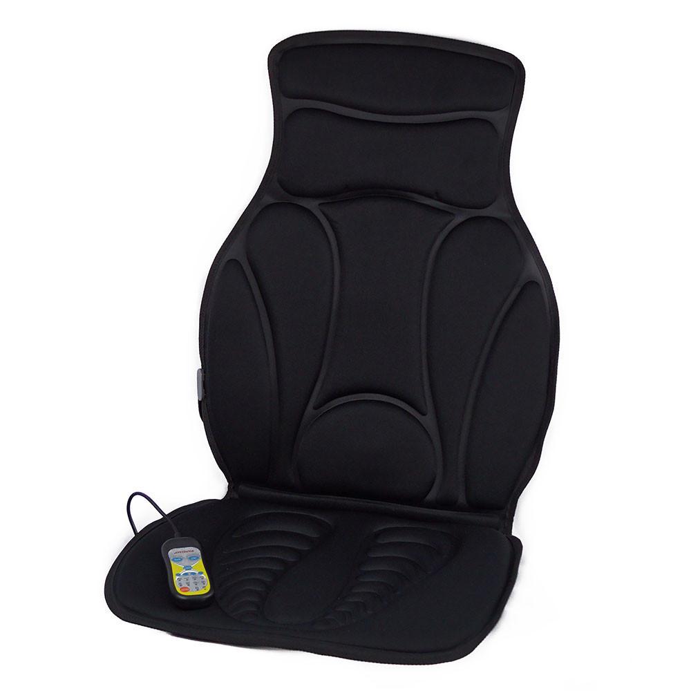 🔝 Автомобильная массажная накидка, Pangao FM-9504B2, накидка массажер в машину, Черный, автомобильный массажер   🎁%🚚