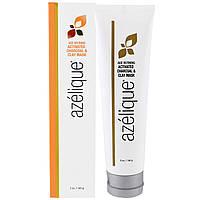 Azelique, Антивозрастная маска с активированным углем & глиной, с азелаиновой кислотой, выводит токсины и успокаивает кожу, без парабенов, без