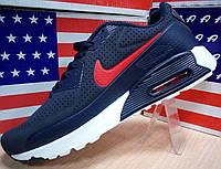 Мужские кроссовки Nike Air Max 90 Найк Аир Макс 90 синие