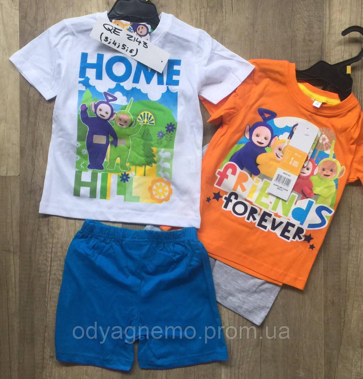 Пижама для мальчиков Disney оптом, 3-6 лет .