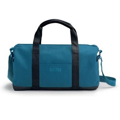 Спортивна сумка MINI Colour Block Duffle Bag, Island / Black, артикул 80222460864