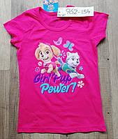 Футболка для девочек Paw Patrol оптом, 2-8 лет.