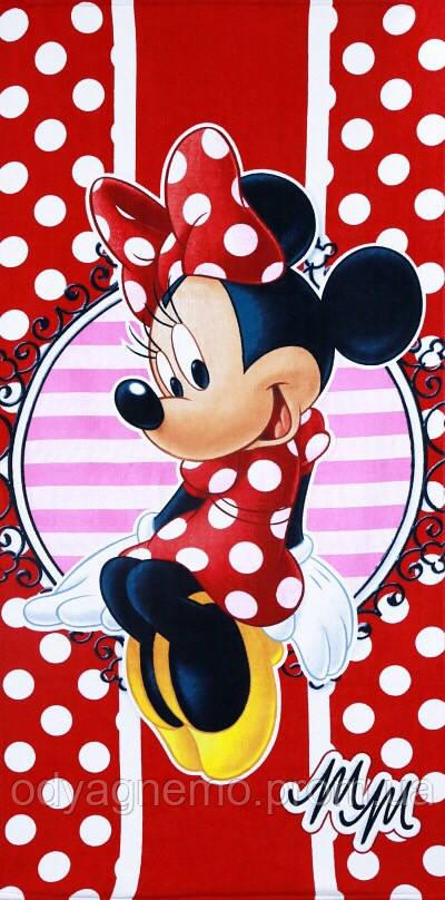 Полотенце Disney оптом, 70*140 см.