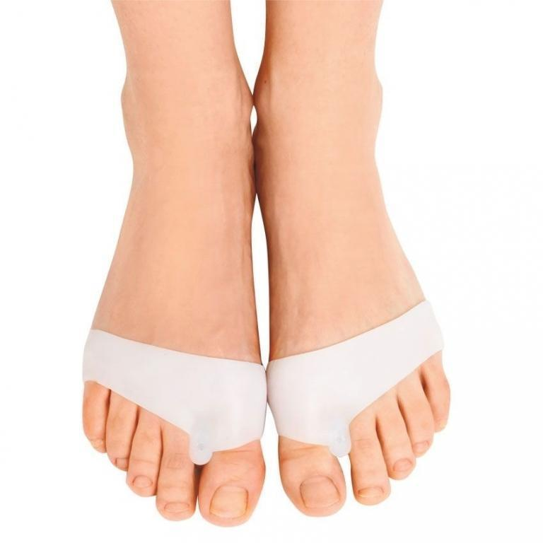 🔝 Силиконовые накладки для ног, фиксаторы для большого пальца ноги, с доставкой по Киеву и Украине   🎁%🚚