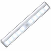 🔝 Светодиодный LED светильник с датчиком движения Motion Brite - Белый, освещение для мебели | 🎁%🚚