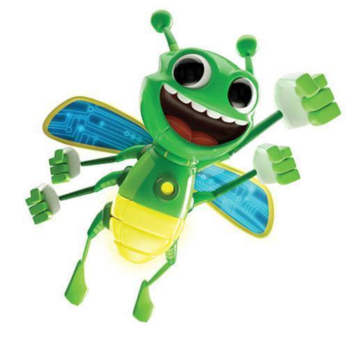 🔝 Детский набор для фокусов, магические 3D пчёлы Magically Flies, свечение - желтое | 🎁%🚚