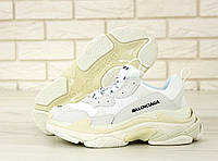Мужские кроссовки Balenciaga Triple S (3-х слойная подошва) / баленсиага / реплика (1:1 к оригиналу)